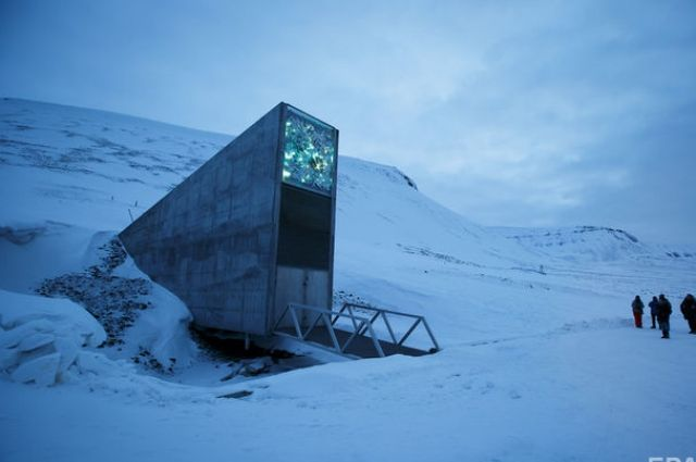 ВНорвегии создали «Хранилище Судного дня» для данных