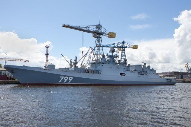 Сторожевой корабль «Адмирал Макаров» начал завершающий этап госиспытаний.