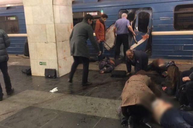 Санкт-Петербург, станция метро «Сенная площадь»