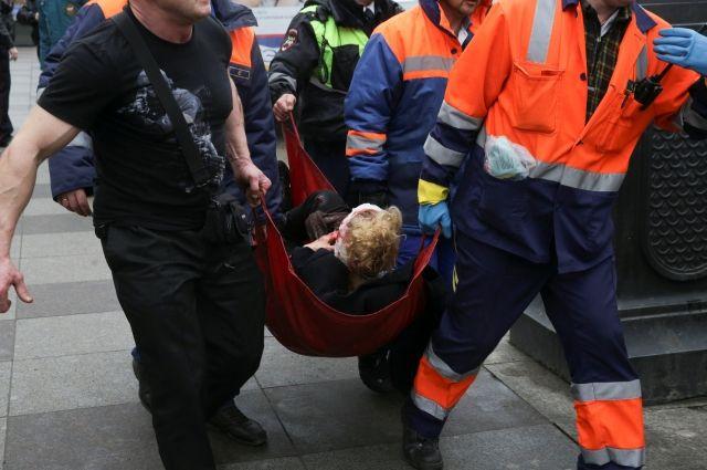 25 человек доставлены вбольницу после взрыва в северной столице