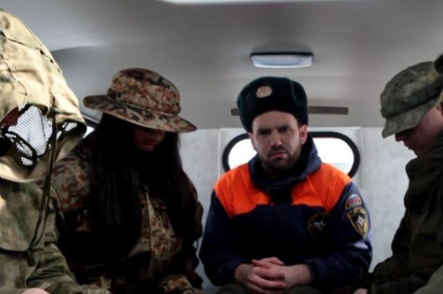 Тюменцы сняли пародию на видеоклип группы «Грибы» - «Тает лёд»