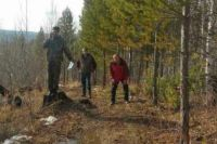 Поисково-спасательная операция в Шелеховском районе.