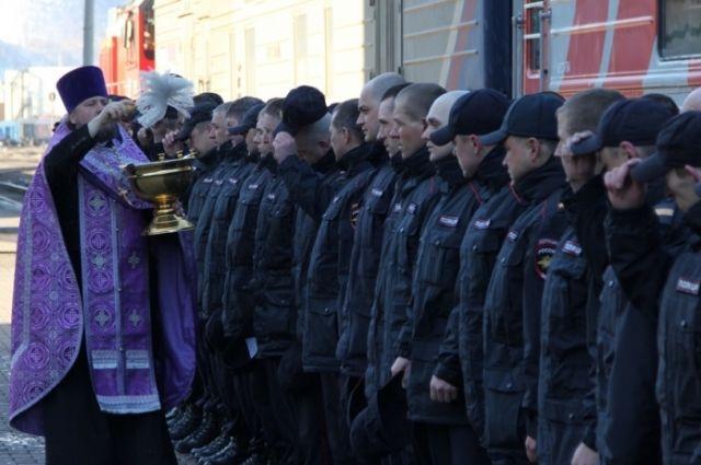 Сибиряки будут помогать своим коллегам из местных отделов полиции.