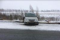 Пожилой водитель получил перелом грудины в ДТП под Ялуторовском