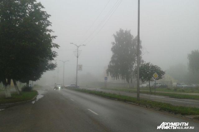В аэропорту Храброво из-за тумана объявили о задержке рейсов.