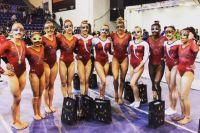 Сборная России показала третий результат в командном первенстве.