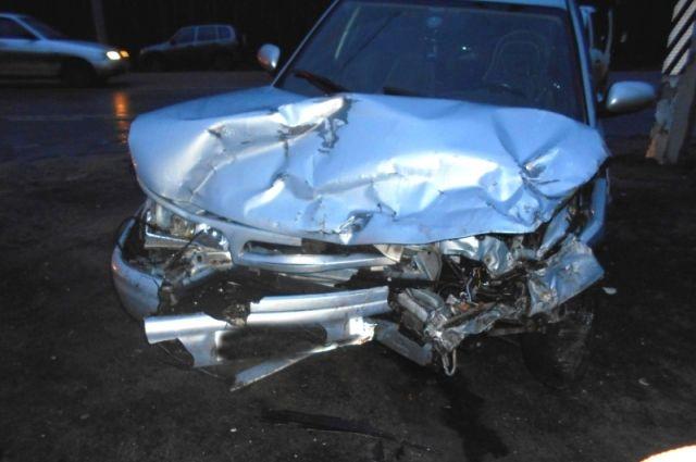 Две Лады «неподелили» перекресток натрассе Тамбов— Пенза: травмированы два водителя