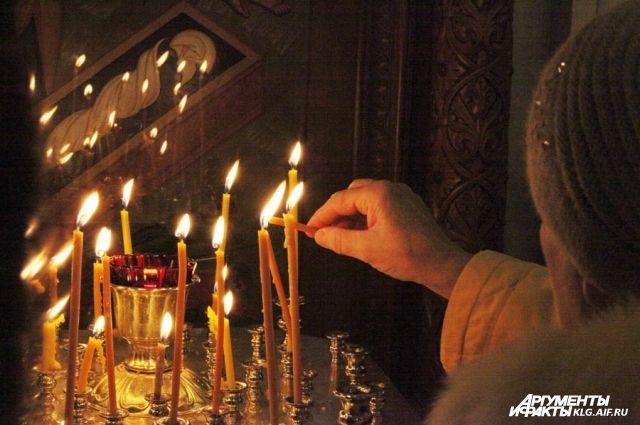В главном соборе Калининграда в Вербное воскресенье отслужат литургию.