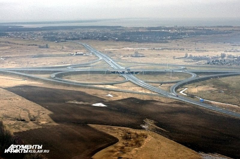 Одна из главных магистралей региона.