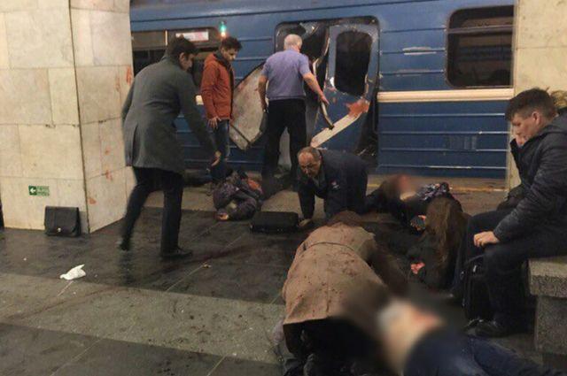 Жительница Ярославской области пострадала при взрыве вметро в северной столице