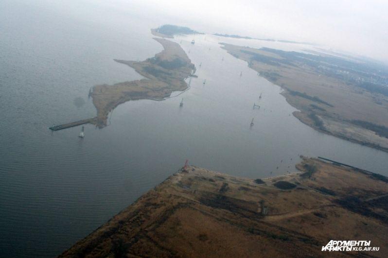 Калининградская область с высоты птичьего полета.
