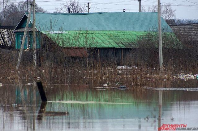 В Кудымкаре регулярно проверяют уровень воды.