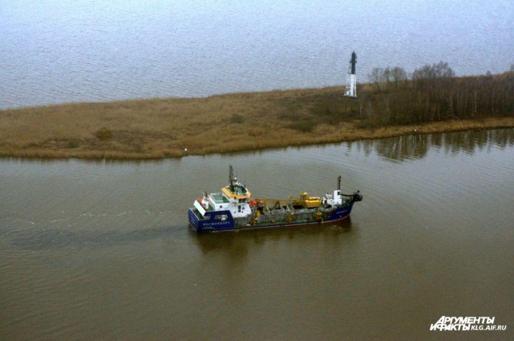 С 1 апреля по каналам и рекам области разрешена навигация.