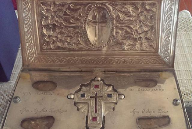 Для реликвии была написана специальная церковная служба.