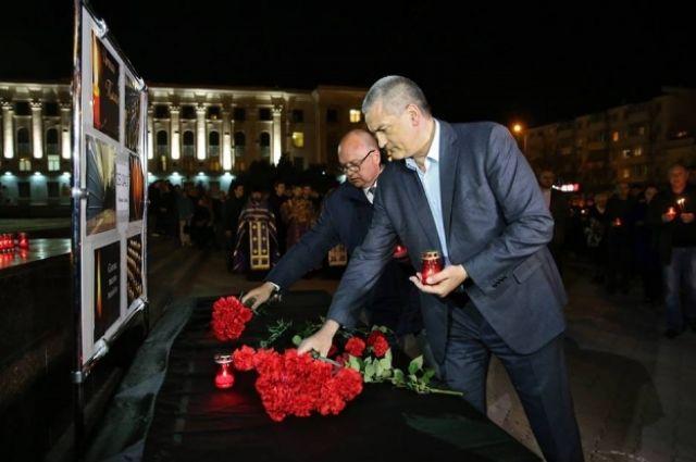 ВСимферополе объявили траур попогибшим вметро Санкт-Петербурга