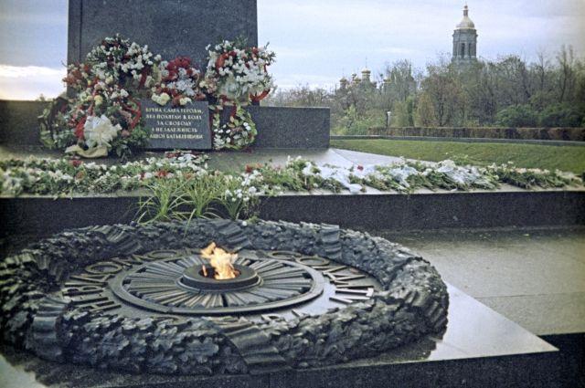 ВКиеве украли часть «Вечного Огня»