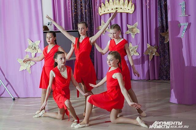 Красавицы должны уметь петь и танцевать