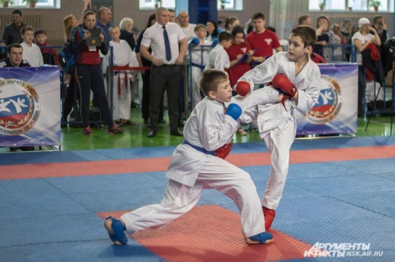 В общекомандном зачете сборная Новосибирской области заняла уверенное первое место