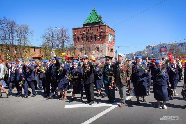 Наукрашение Нижнего Новгороде кДню Победы выделят 6 млн руб.