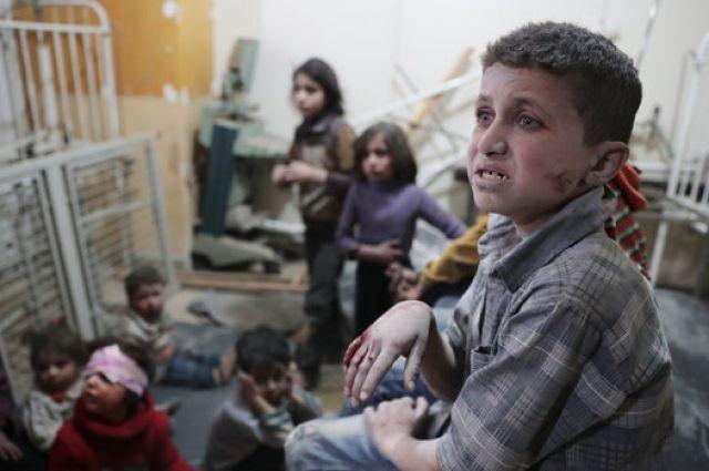 Количество жертв химической атаки в сирийской провинции Идлиб возросло до 72