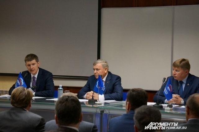 В июне единороссы определят кандидата, который будет участвовать в выборах на пост губернатора.