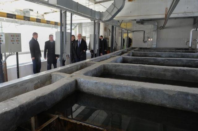 Губернатор отчитал каслинских чиновников засрыв ремонта насосной станции