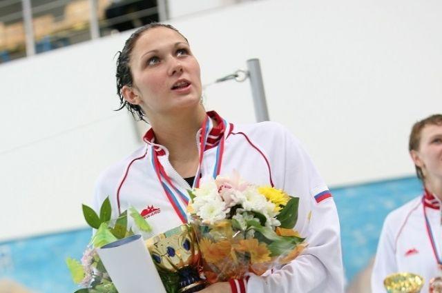 Ольга Ключникова завоевала две медали в плавании на спине.