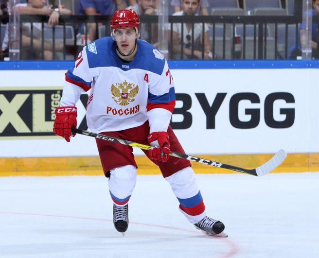 Евгений Малкин (Россия, «Питтсбург Пингвинз»). Двукратный обладатель Кубка Стэнли, двукратный чемпион мира, один из лучших бомбардиров НХЛ последних лет.