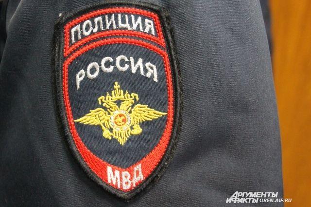 С огнём справились полицейские полка ППС
