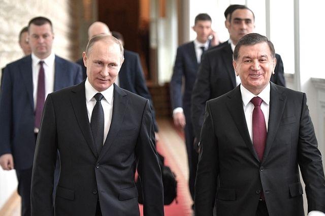 Российско-узбекистанские переговоры.