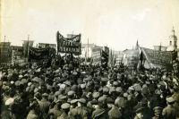 В апреле 1917 года политическая жизнь в Красноярске бурлила.