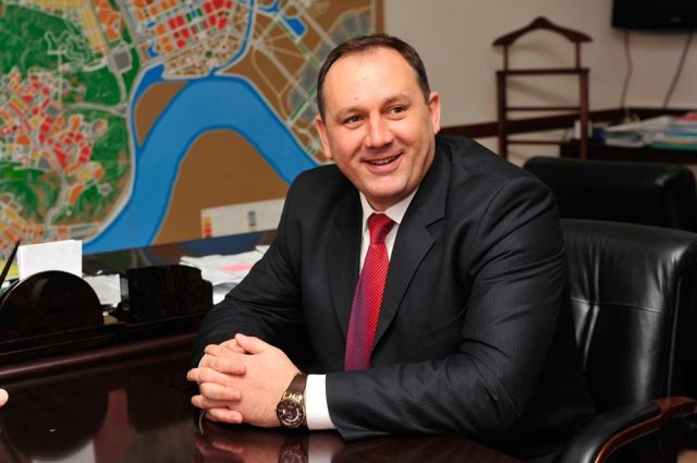 Глава Ханты-Мансийска Максим Ряшин.