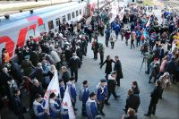 На 11 мая назначен дополнительный поезд сообщением Москва – Калининград.