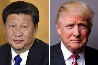 Си Цзиньпинь и Дональд Трамп.