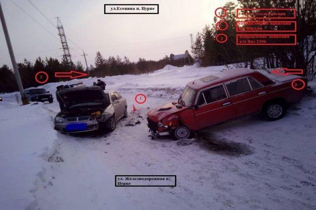 В ДТП пострадал водитель без прав.