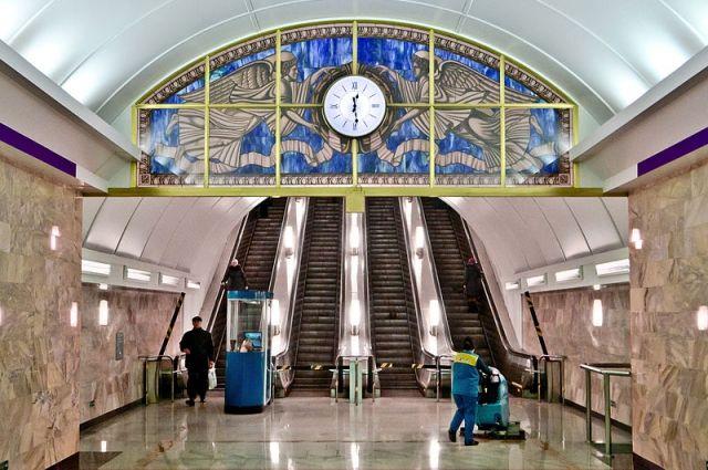 Станция «Адмиралтейская» открыта навход ивыход пассажиров