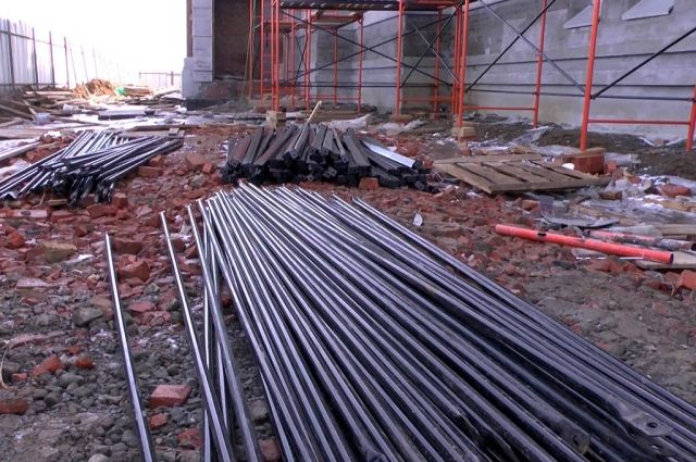 ВСаратове охранник строящегося храма похитил металлоконструкции на млн