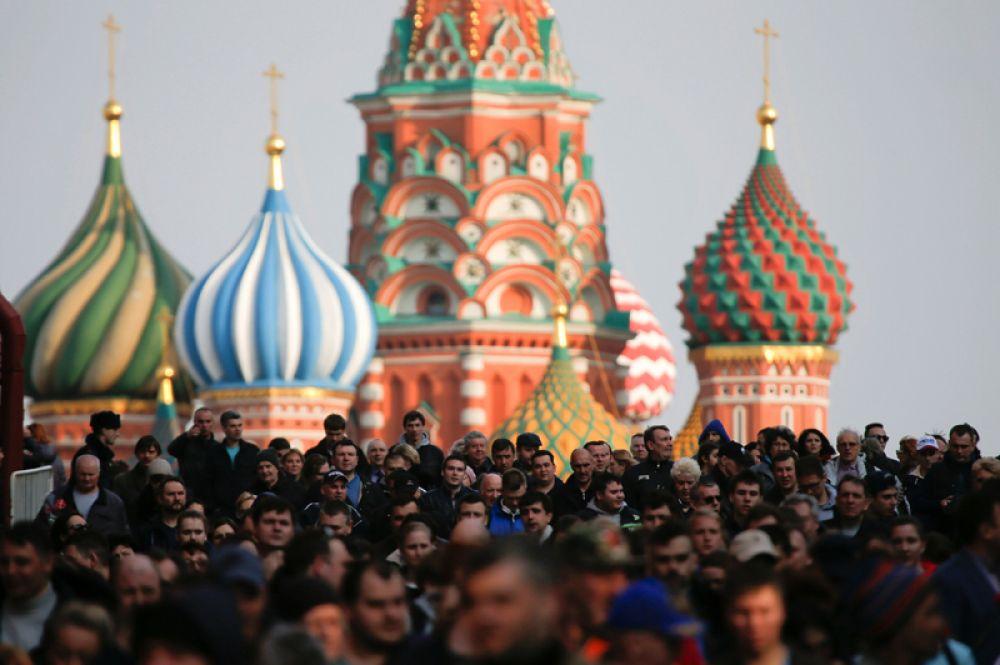 Организатором мероприятия выступила федерация столичных профсоюзов.