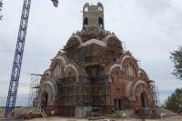 Строительство храма в Когалыме  - сентябрь 2016 года.