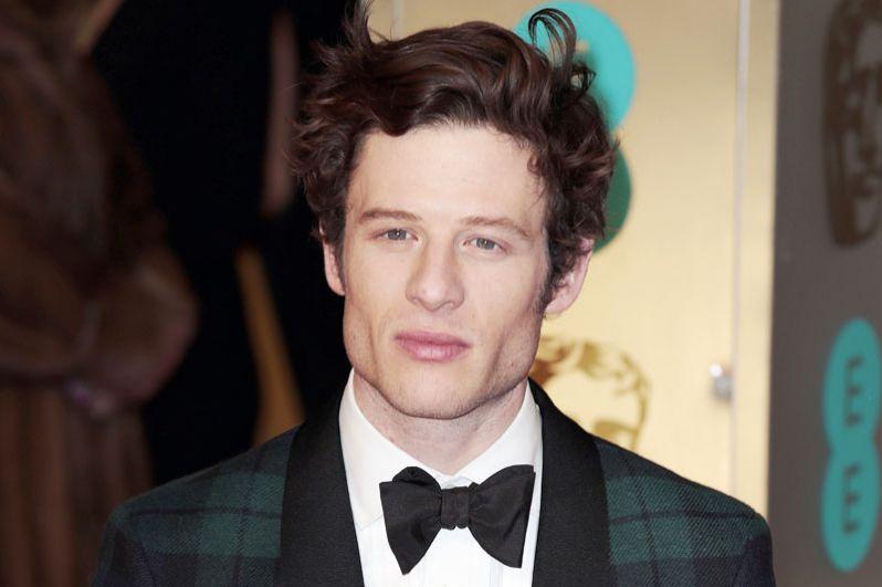 Джеймс Нортон, сыгравший Андрея Болконского в мини-сериале BBC «Война и мир».