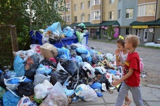 Львов обещает заплатить 6,5 млн. грн. тем, кто примет мусор