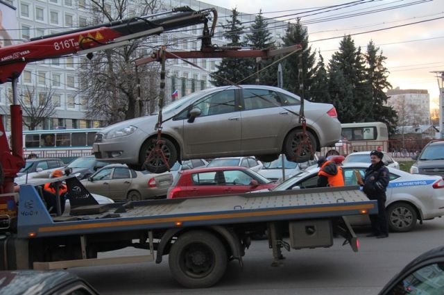 Установлены тарифы наэвакуацию авто вНижегородской области