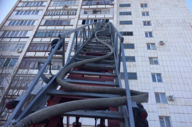 Оренбурженка погибла на пожаре в многоэтажном доме