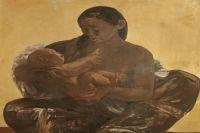 """Картина """"Северная Мадонна"""" будет выставлена на Вороньем дне в Лабытнанги."""
