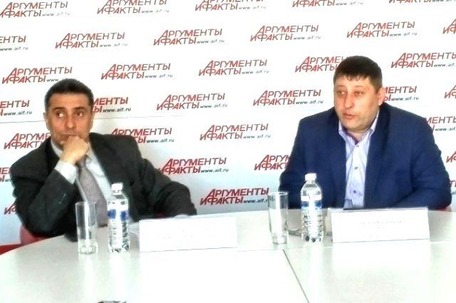 Андрей Шаповалов и  Евгений Липатов.