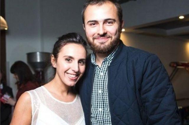 Джамала с женихом на показе фильма