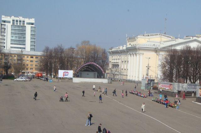 ВКирове наТеатральной площади пройдет акция против терроризма