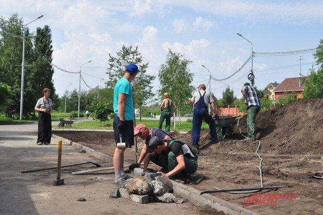 Зеленые насаждения появятся, преимущественно, возле объектов, построенных по программе «80Х80».