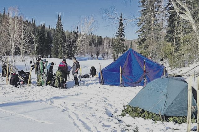 Это серьёзное испытание – ночевать в палатке в 30-градусный мороз!