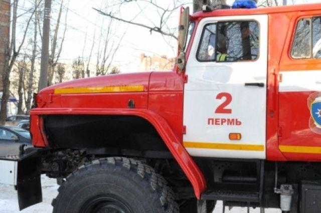 Жертвами пожара вПерми стали двое человека